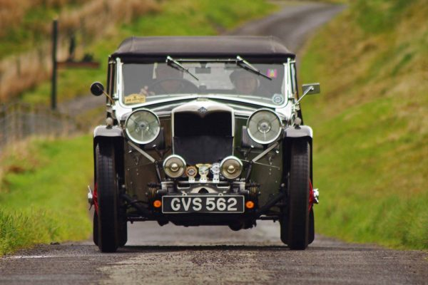 Riley on Classic Car Tour