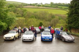 North Leicester MG Club Group Photo
